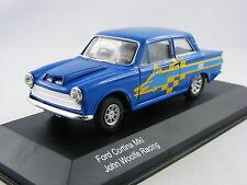 Ford Cortina MkI John Woolfe Racing in blau, Corgi Vanguards VA07304, 1/43