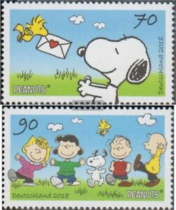 FRD (FR.Germany) 3369-3370 (complete issue) fine used / cancelled 2018 Peanuts