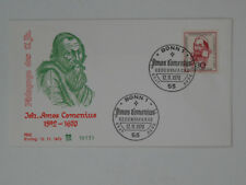 (b91) Germany Federal Jewellery FDC Michel No 656 Johann Amos Comenius 1970