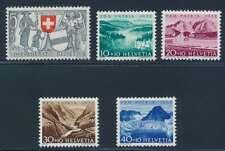 Schweiz Nr. 570-574 postfrisch / **, Pro Patria 1952 (39117)