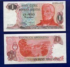 ARGENTINA 1 PESO 1983-84 P311 UNCIRCULATED AM-1