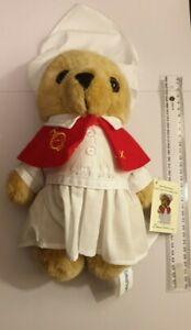Care Flight Bear Florence Nurse 28 cms Plush Teddy Bear Brand new with tags