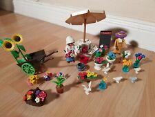Playmobil Nostalgie Blumenstand ähnlich 5343, rosa Serie