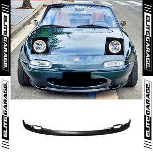 Fits Mazda Miata MX5 (NA) - Front Bumper Lip Spoiler OE Style (90-97)