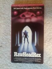 Rawhead Rex : VHS 1986 creature-horror GORE Clive Barker used