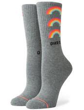Stance Women's No Doubt Crew Socks in Grey