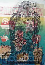 Black Keys Nashville (2008) Monoprint by Dan Grezca - One-of-a-Kind Art Print