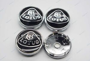 60mm 1Set Car modification Parts Wheel Center Caps Hub Cover Emblem for Lotus
