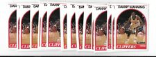 Danny Manning 1989/1990 NBA Hoops Mint Rookie Card #40 Kansas (lot of 100)