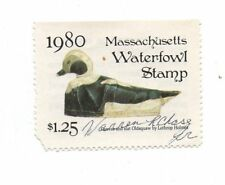 Used MA7 Massachusetts State Duck Stamp