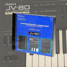 Roland PN-JV80-05 contemporain Composer Sound ROM Card JV80/1080/2080 synthé