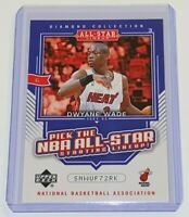 2004-05 Upper Deck Diamond Collection All-Star Lineup Promo Dwyane Wade #AS15