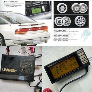 JECS POWER METER OEM Optional Nissan Silvia 180SX S13 Skyline R32 RARE Cluster