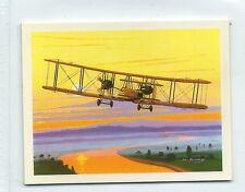 #6 Vickers Vimy - History of British Aviation 1988 Card
