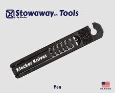 Klecker Stowaway Tools EDC Pen For Case Key Ring STW-210