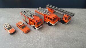 Herpa, Wiking, Feuerwehr Hamburg Konvolut 1:87
