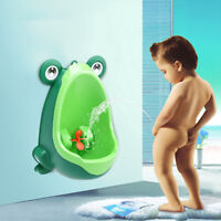 Bathroom Kids Frog Potty Toilet Training Children Urinal for Boys Pee Trainer