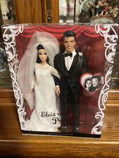 Elvis Presley and Priscilla Presley Barbie Doll Set Wedding Set