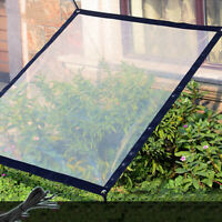 Breathable Anti-UV Sunblock Shade Net for Plant Cover Greenhouse Barn w/ Rope