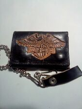 Harley Davidson Wallet Bifold With Chain