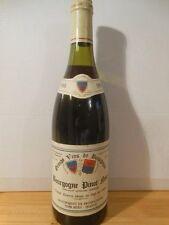 Bourgogne Rouge 1988 Producteurs De Buxy Élevé En Fût De Chêne
