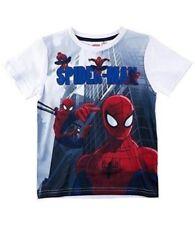 Camisetas de niño de 2 a 16 años mangas cortas blanco