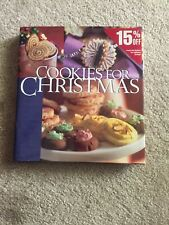 COOKIES FOR CHRISTMAS Jennifer Dorland Darling Baking Cookbook Hardcover New