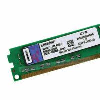 4GB PC3-10600U DDR3 1333MHz per memoria desktop Kingston RAM DIMM SDRAM RL1IT