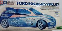 Vintage TAMIYA 1/10  FORD FOCUS RS WRC 02 TL-01 kit w/A3-StepRSC EP ITEM:58292