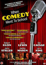 When Comedy Went to School,New DVD, Mickey Freeman, Dick Gregory, Jerry Stiller,