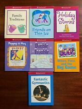 New listing Lot 7 American Girl Mini Book Stories Gymnastics Soccer Holidays Family Friends
