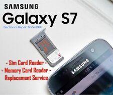 Samsung Galaxy S7 Sim Card Reader SD Memory Card Reader Repair Replacement