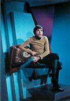 "Star Trek Pavel Chekov Postcard 6x4"" Actor Walter Koenig Seated"