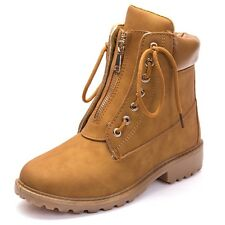 New Women Antiskid Martin Boots Work Boots Lace Up Sneakers Shoes Style Good
