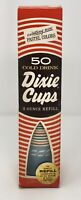 Vintage New NOS 1968 Dixie Cups Cold Drink 5 oz Sealed Rare Pastel Colors