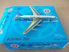 NET Model-500  1:500 EL AL Israel Airlines / Flying Tiger Line Boeing 707