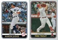 2020 Topps Big League Baseball Cards Base Team Set You Pick From List