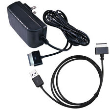 US SHIP for Asus Transformer Prime TF201 SL101 US Plug AC Wall Charger+USB Cable