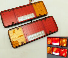 PAIR 12V LED REAR TAIL LIGHTS LAMP CHASSIS BOX TRUCK IFOR VECO PEUGEOT VW DUCATO