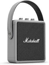 Marshall Stockwell II/G Portable Bluetooth Speaker, Grey, Wireless