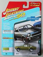 1972 Chevy Vega GT Gulf Green Poly JOHNNY LIGHTNING DIE-CAST 1:64