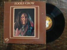 FOOLS CROW LP-*MINT-/*SELF TITLED-TATANKA TLP 100- MINT  INSERT- GATEFOLD-
