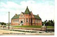 Prendergast Library Building-Jamestown-New York-Vintage Postcard