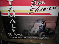 GMP 1/18 RON SHUMAN TAMALE WAGON #1  SPRINT CAR AWESOME DETAILED MODEL CAR