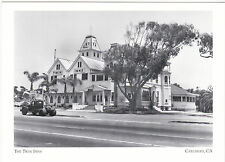 "+PC-Postcard-""The Twins Inn"" ...Restaurant -1940's- @ Carlsbad, CA.-  (#41)"