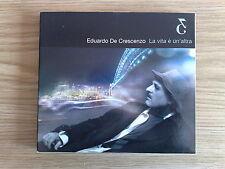 EDUARDO DE CRESCENZO - LA VITA E' UN'ALTRA - CD DIGIPAK COME NUOVO (MINT)