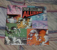 "Crosby Stills & Nash ""Allies""  Atlantic Records 80075-1  Vinyl LP Record"