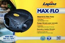 Laguna Max-Flo 960 Waterfall & Filter Pump, for ponds up to 1920 U.S. gal