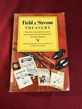The Field & Stream Treasury, 1955 Third Printing, Hc w Dj.