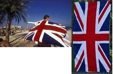 "UNITED KINGDOM Britain UK British FLAG COTTON BATH POOL BEACH TOWEL WRAP 30x60"""